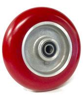 Rounded Polyurethane /Elastomer on Aluminum