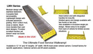 Walk Ramps - Food Service