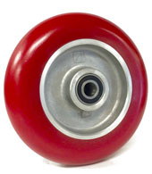 Rounded Polyurethane /Elastomer on Aluminum